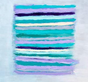 40 x 40 Oil and Acrylic on Canvas