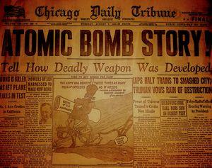 Atomic Bomb Story!