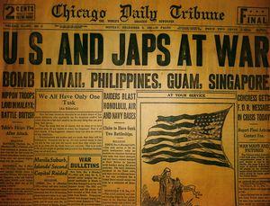 U.S. And Japs At War