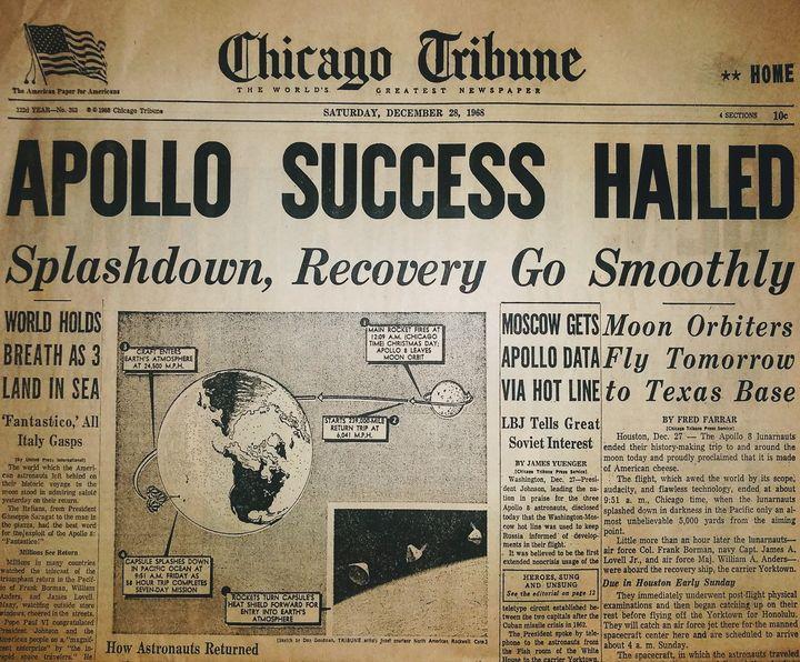 Apollo Success Hailed - CJA