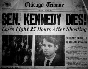 Sen. kennedy Dies