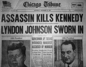 Assassin Kills Kennedy