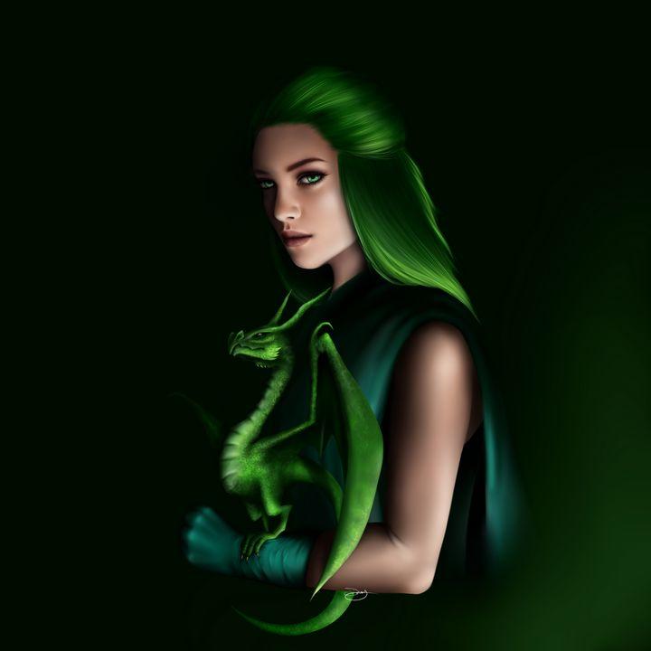 Emerald - Daisy's Artshop