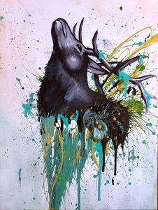 Elk Pouring