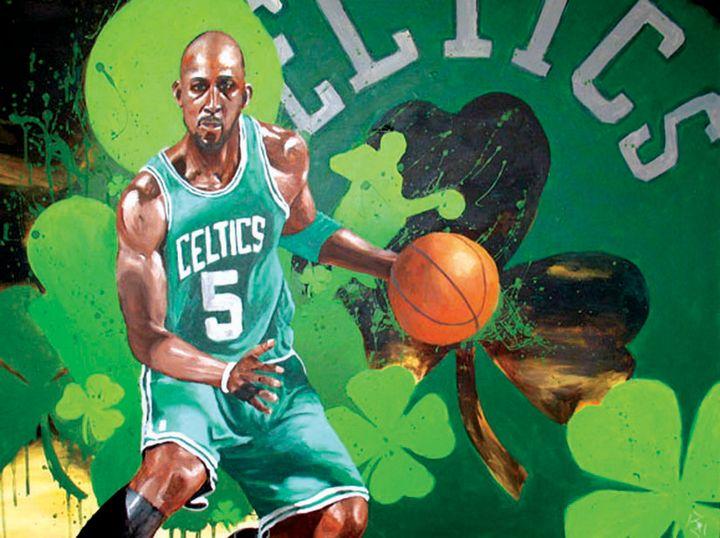 Celtics Kevin Garnett - JP Studio