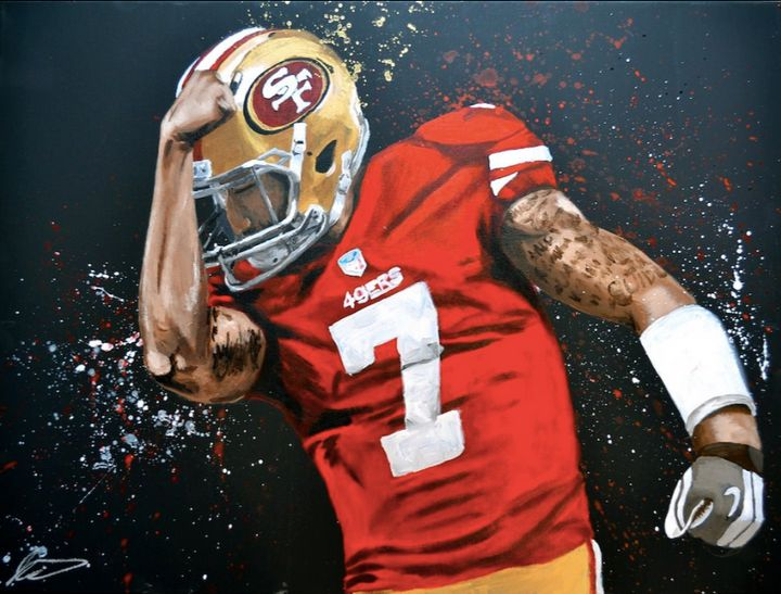 Colin Kaepernick, 49ers - JP Studio