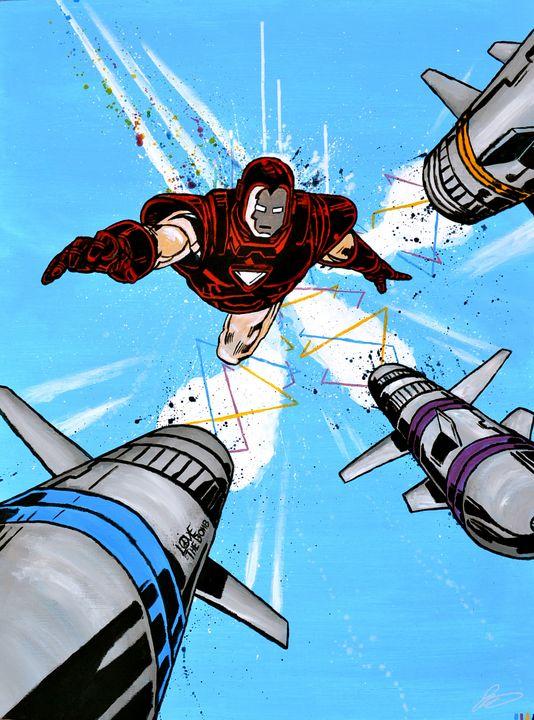 Iron Man, Love the Bomb - JP Studio