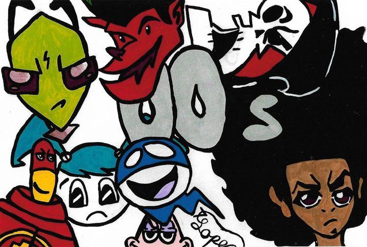 00s Cartoon Collage - Toon_Lif3