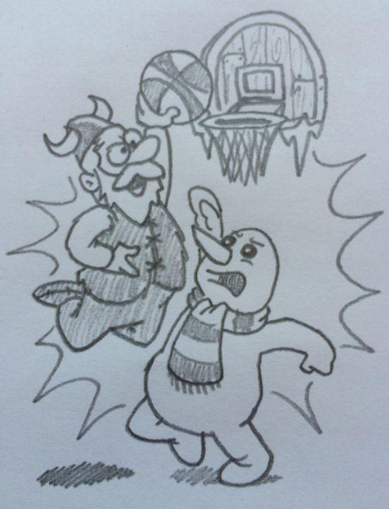 Slam Dunk - Sketchin' It Up
