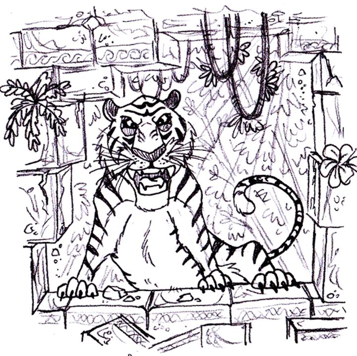 Tiger Trouble - Sketchin' It Up