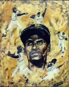 Roberto Clemente By George - Art By George