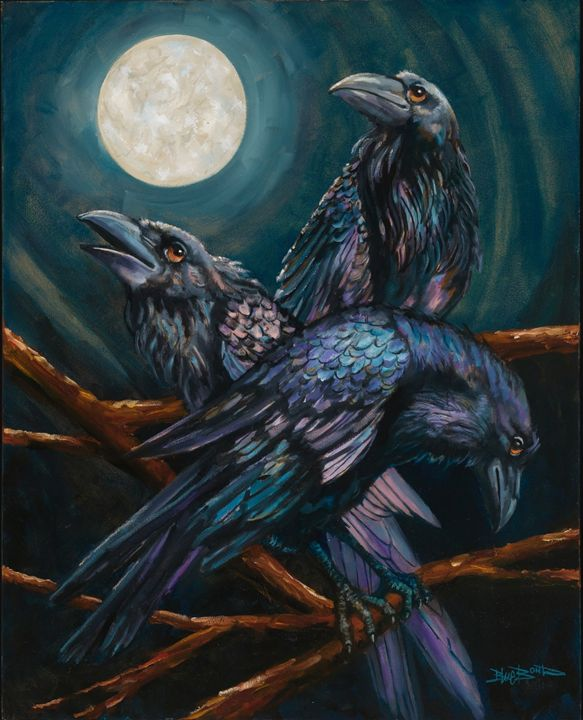 """Moonlight"" - Blue Bond Gallery"