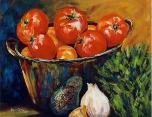"""""""Bucket of Tomatoes"""""""