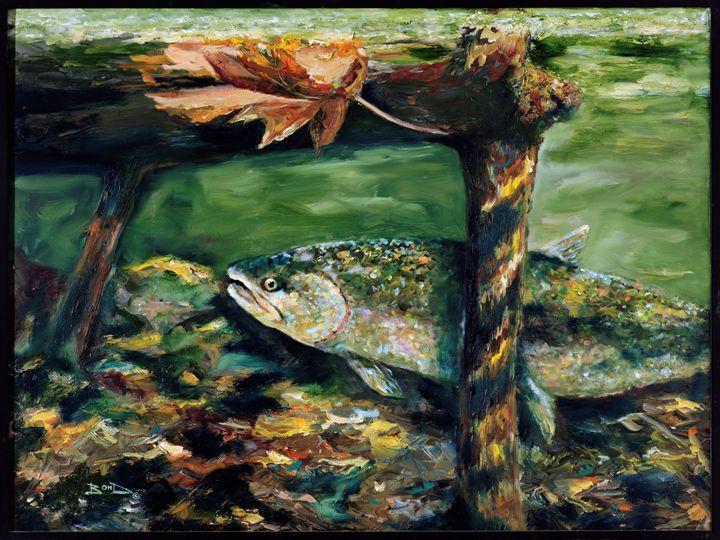 """Under the Oak Leaf"" - Blue Bond Gallery"
