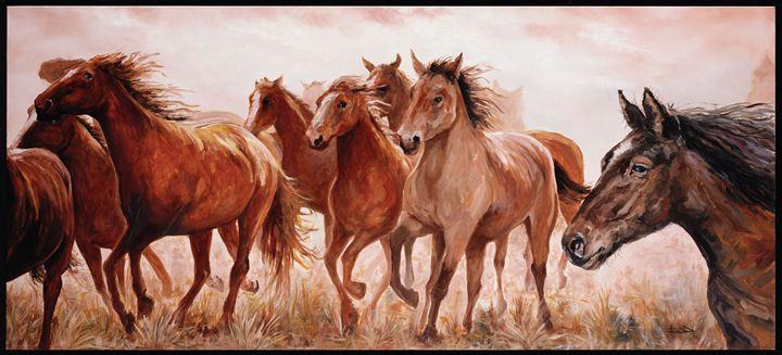 """""""Spirited Mustangs"""" - Blue Bond Gallery"""