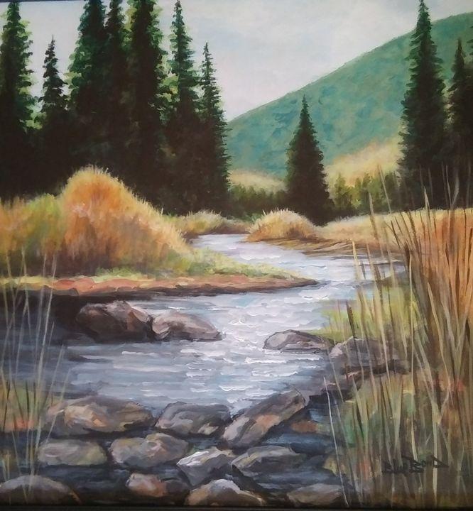 """A River Runs Through It"" - Blue Bond Gallery"