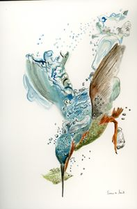 Plunging in for Tea - Siuna Ann Reid