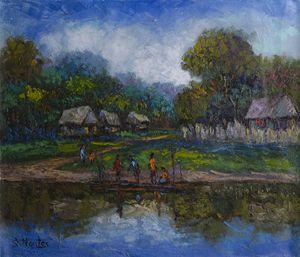Amazonian village