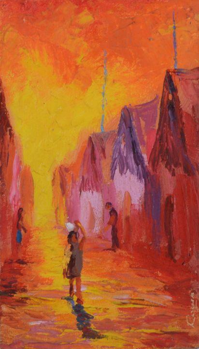 Street of Belén (2) - Story Art Gallery