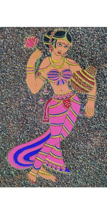 Indian Women Portrait - Vijay's Digital Art