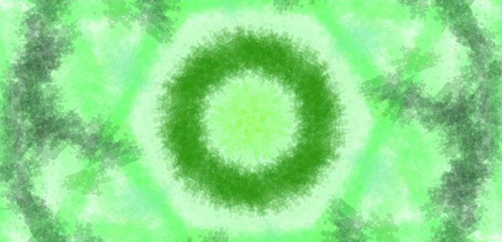 Green Form - Vijay's Digital Art