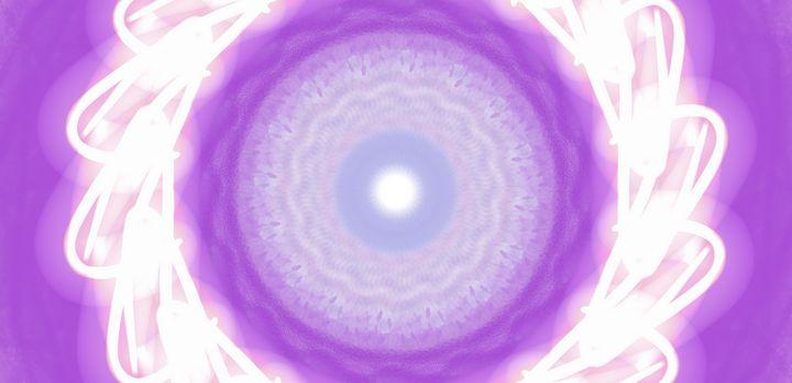 Blazing Color Purple - Vijay's Digital Art