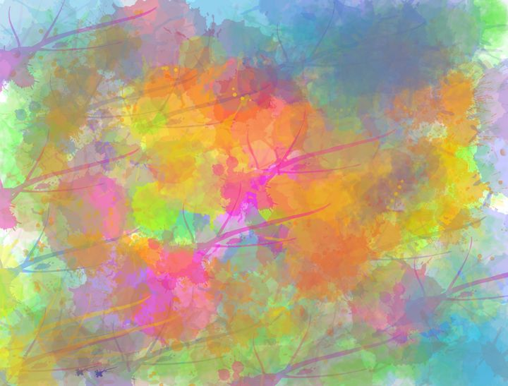Color Splash - Vijay's Digital Art