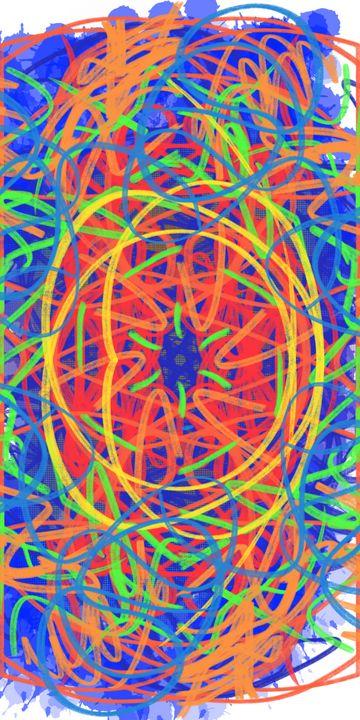 Color Mesh - Vijay's Digital Art
