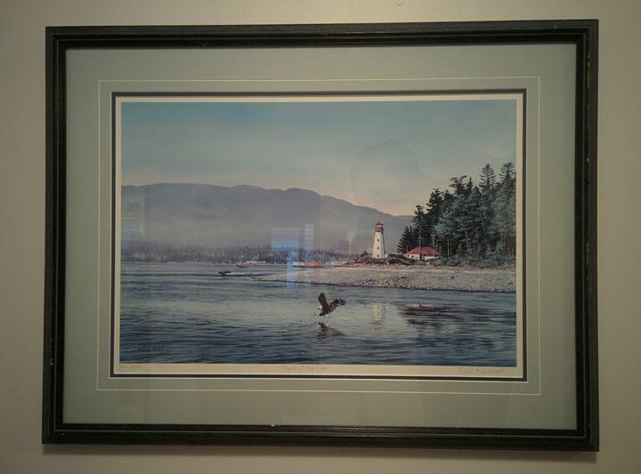 """Bill Maximick - """"Eagle At The Cape"""" - SAMO's Corner"""
