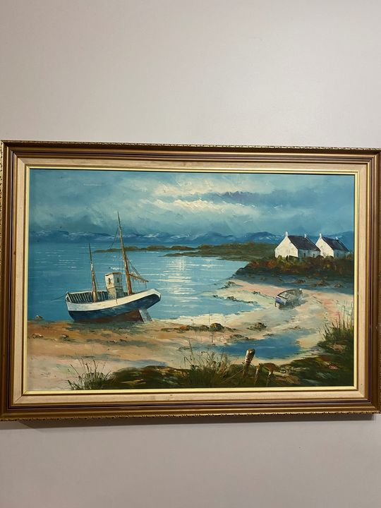 Docked fishing boat - Lizerize