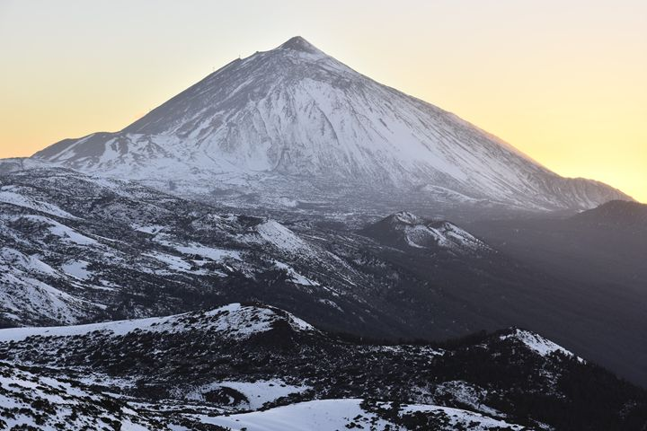 Mount Teide In Winter - Marek Stepan Photographer