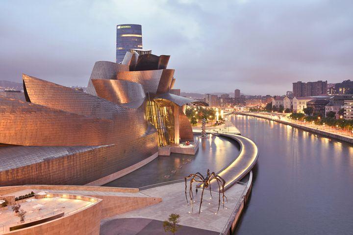 Guggenheim Museum Bilbao Spain - Marek Stepan Photographer