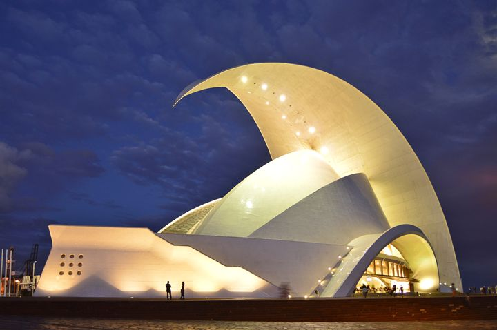 Tenerife Auditorium At Night - Marek Stepan Photographer