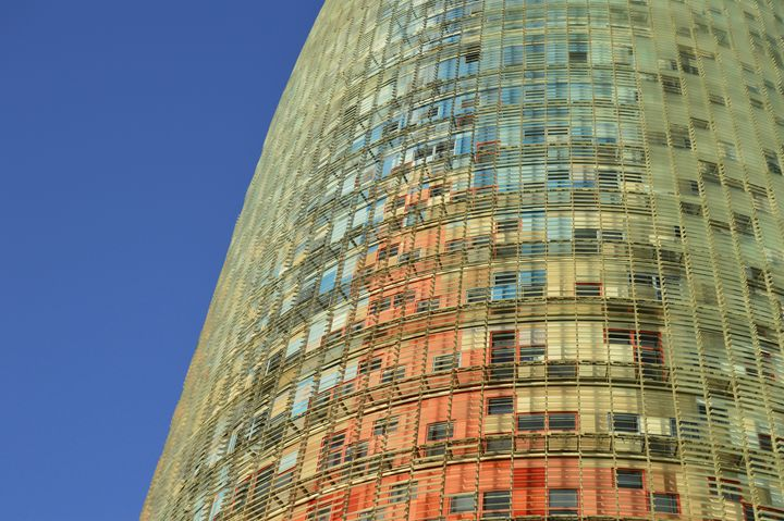 Torre Agbar Abstract - Marek Stepan Photographer