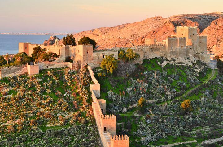 Alcazaba Of Almeria - Marek Stepan Photographer