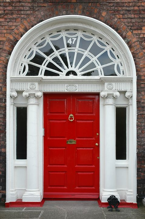 Dublin Door III - Marek Stepan Photographer