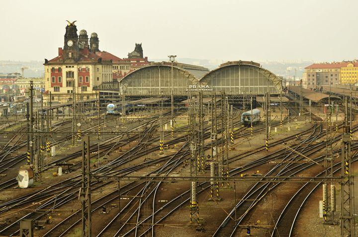 Prague Railway Station - Marek Stepan Photographer