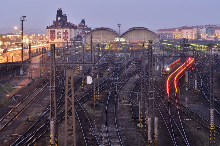Prague Railroad Station - Marek Stepan Photographer