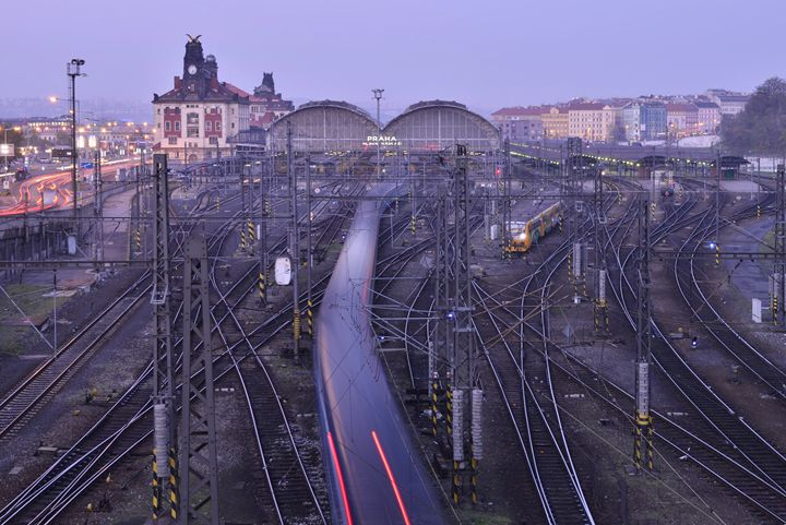 Prague Railroad Station II - Marek Stepan Photographer