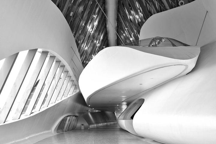 Futuristic Passage - Marek Stepan Photographer
