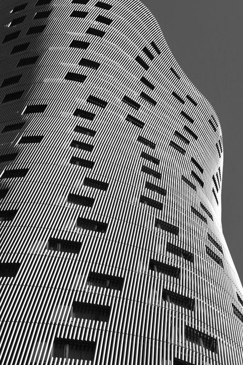 Hotel Porta Fira Monochrome - Marek Stepan Photographer
