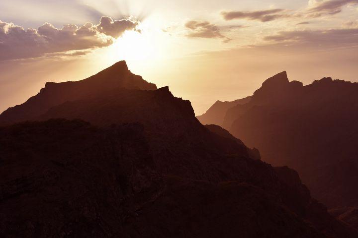 Sunset Peaks - Marek Stepan Photographer