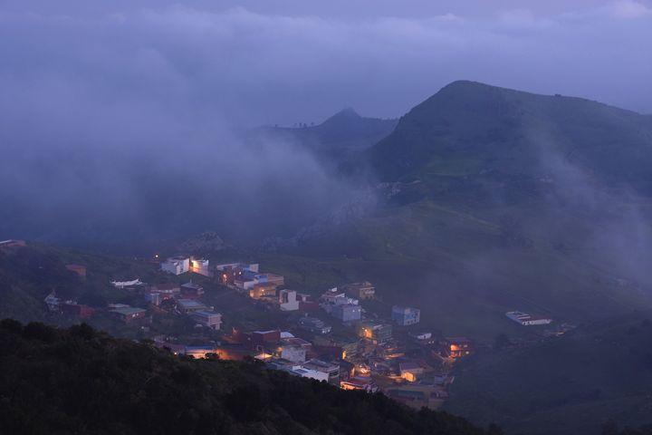 Misty Village - Marek Stepan Photographer