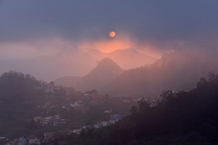 Misty Sunset - Marek Stepan Photographer