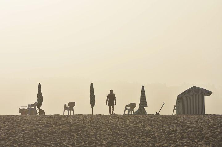 Misty Beach - Marek Stepan Photographer