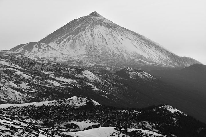 Mount Teide In Winter - Marek Stepan Photographer