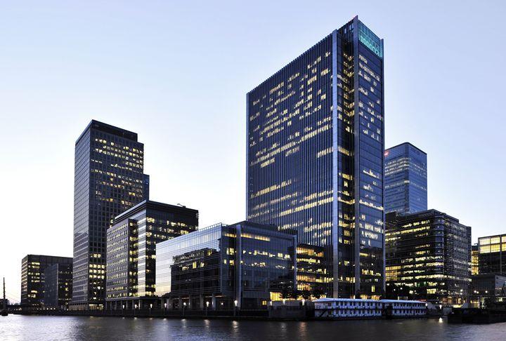 London Docklands Skyline - Marek Stepan Photographer