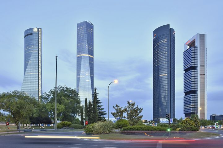 Madrid Cuatro Torres - Marek Stepan Photographer