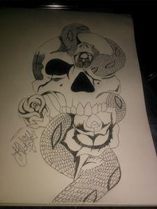 radical skull& snake