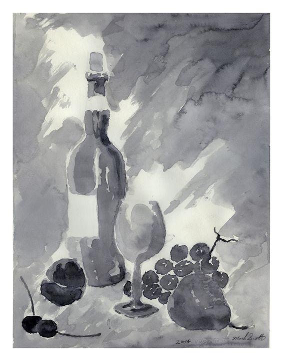 wine & grapes - Mark's arrangements